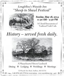 Sheep to Shawl Festival at the Wayside Inn