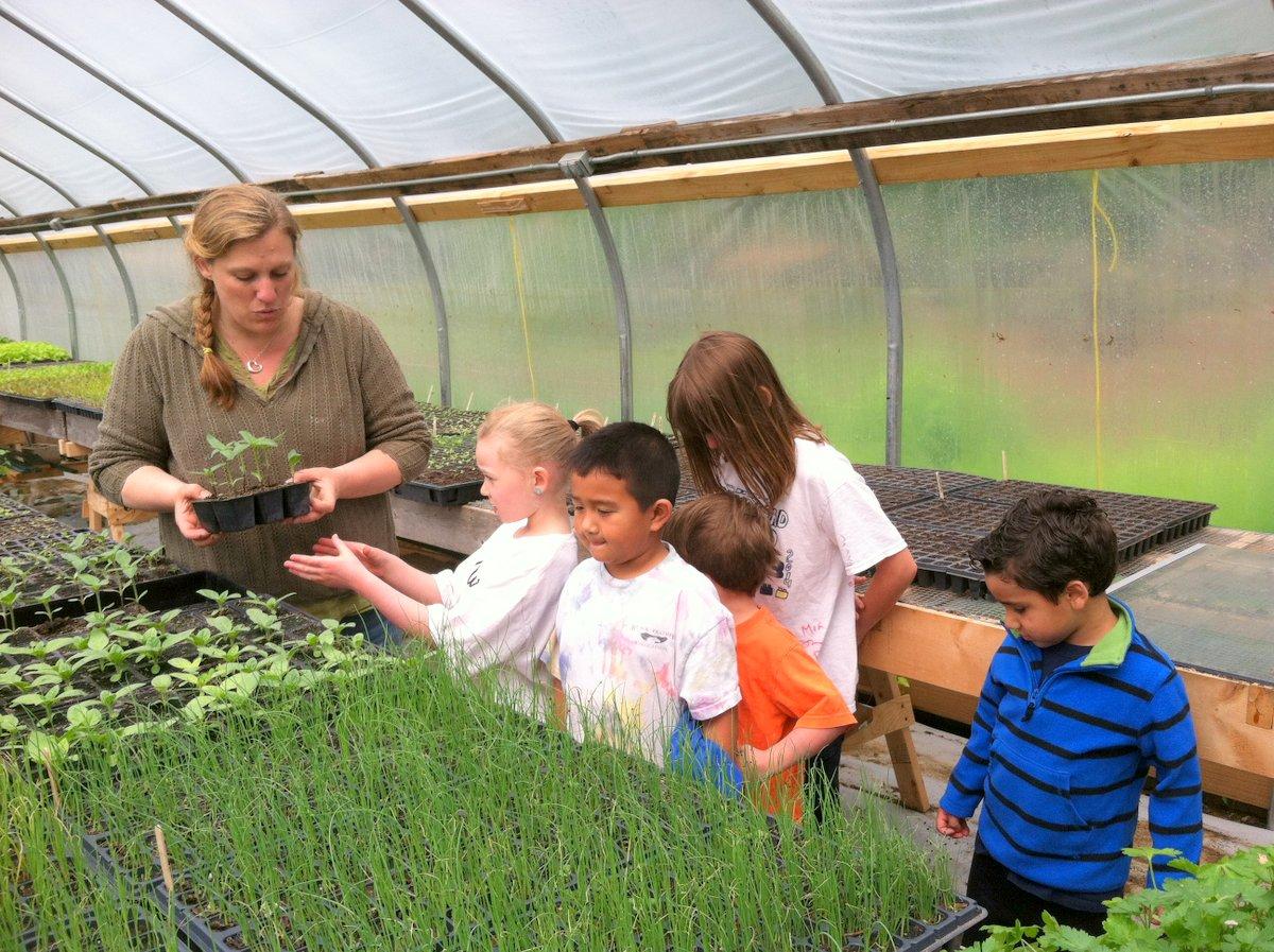 Children's Garden work day with Noelle Pierce
