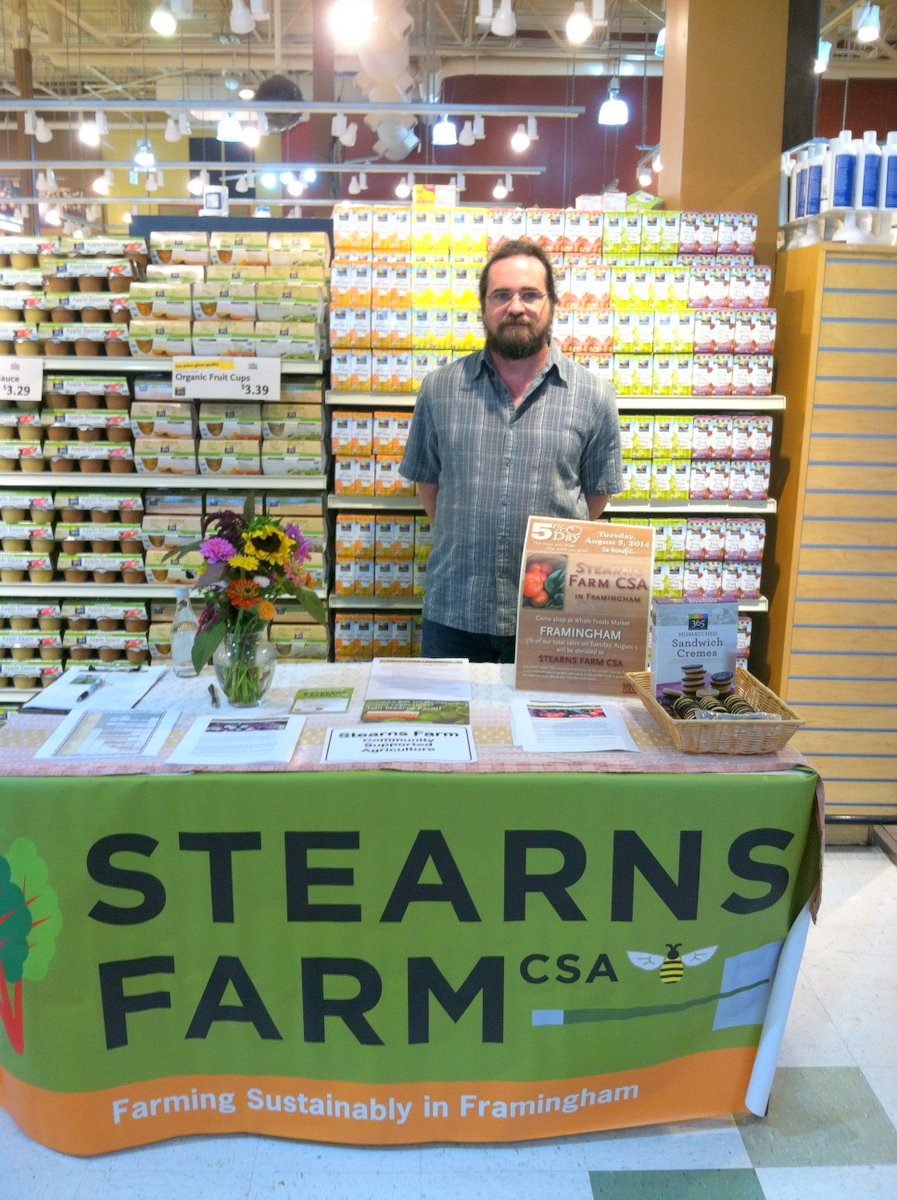 The Whole Foods 5% Day was a huge success--Thank You Whole Foods!
