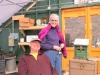 Rick Lawrence and Frann Bennett--the farm's power couple