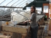 March: Susan Gets the Greenhouse Ready