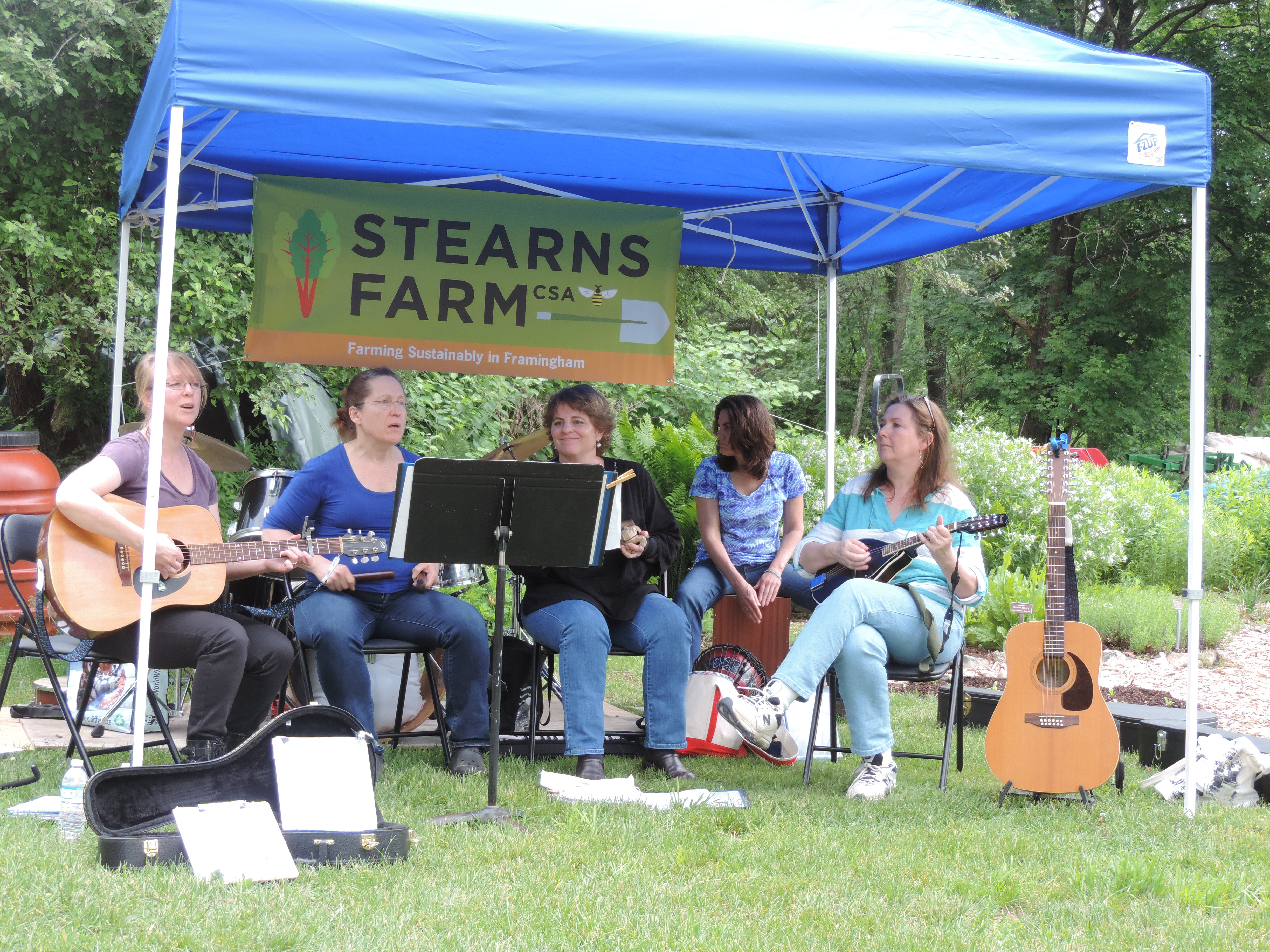 Blue Amber Performs A Song About the Farm