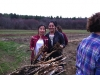 Fay School students cleaning up on Earth Day