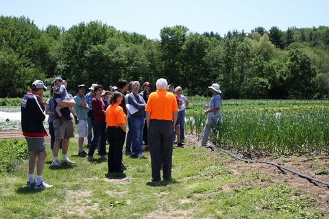 Orientation and tour of the farm