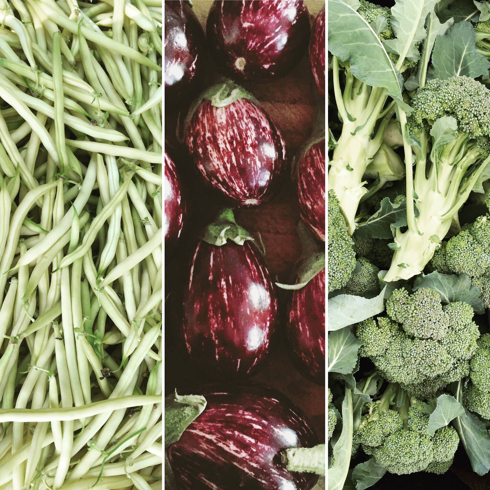 Remember summer veggies!