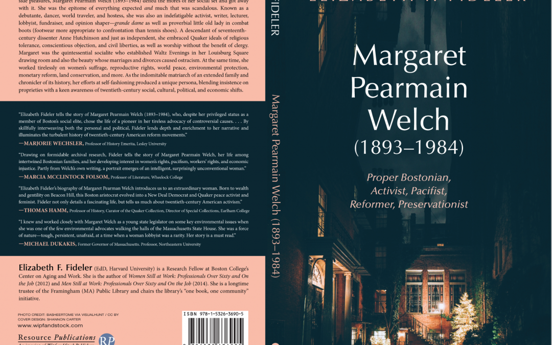 Local Author Pens Bio of Stearns Farm Patron Margaret Welch