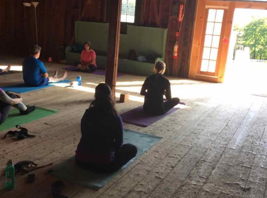 Practice Yoga at Wolbach Farm This Summer