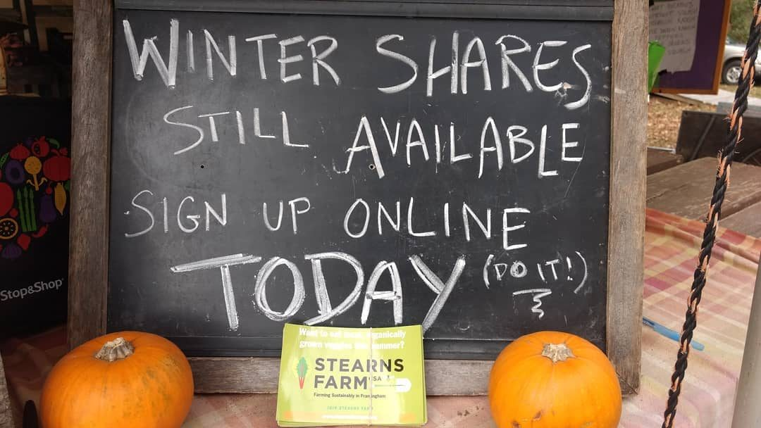 A Winter Share for the Holidays…and Beyond