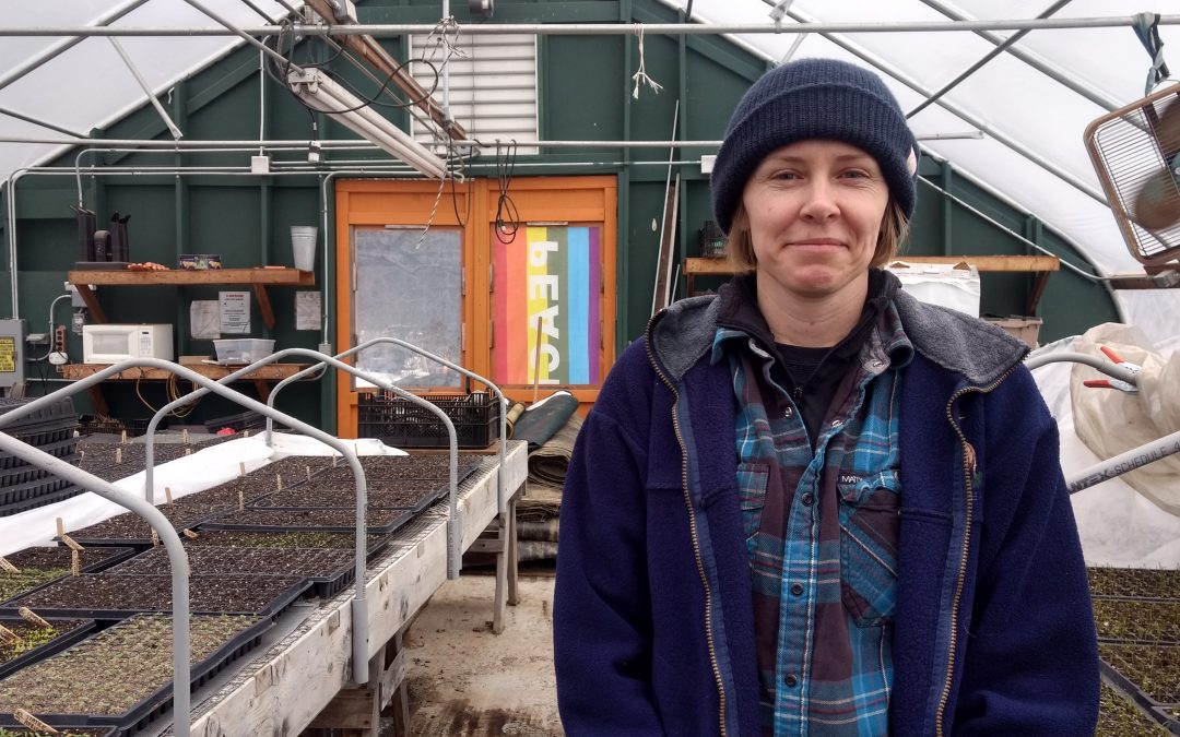 Meet Assistant Farm Manager Kerry Beyrer