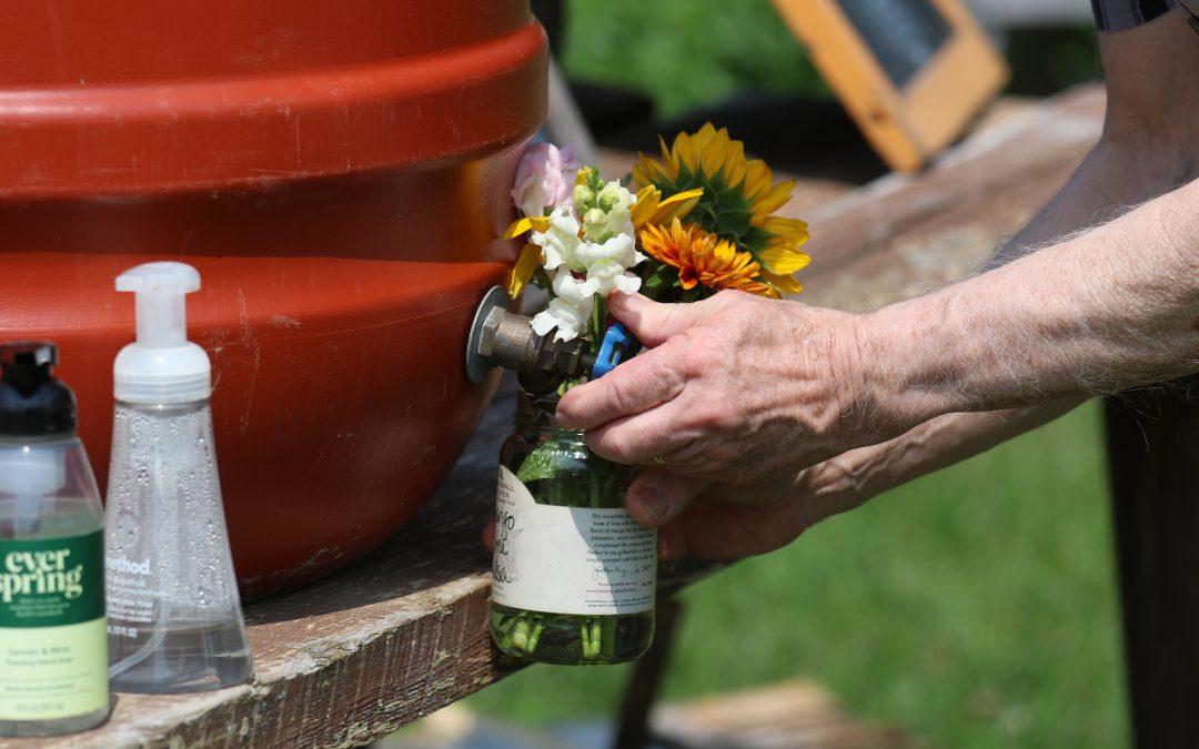 Self-Serve Flower Garden Now Open