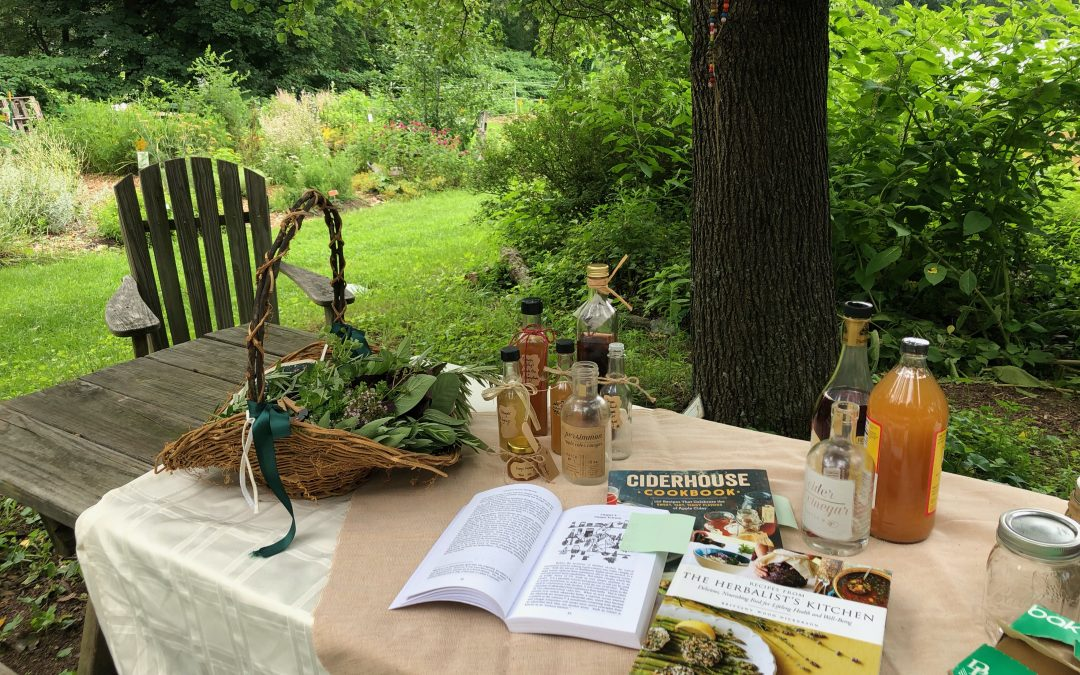 Part II of the Herb-Infused Vinegar Workshop