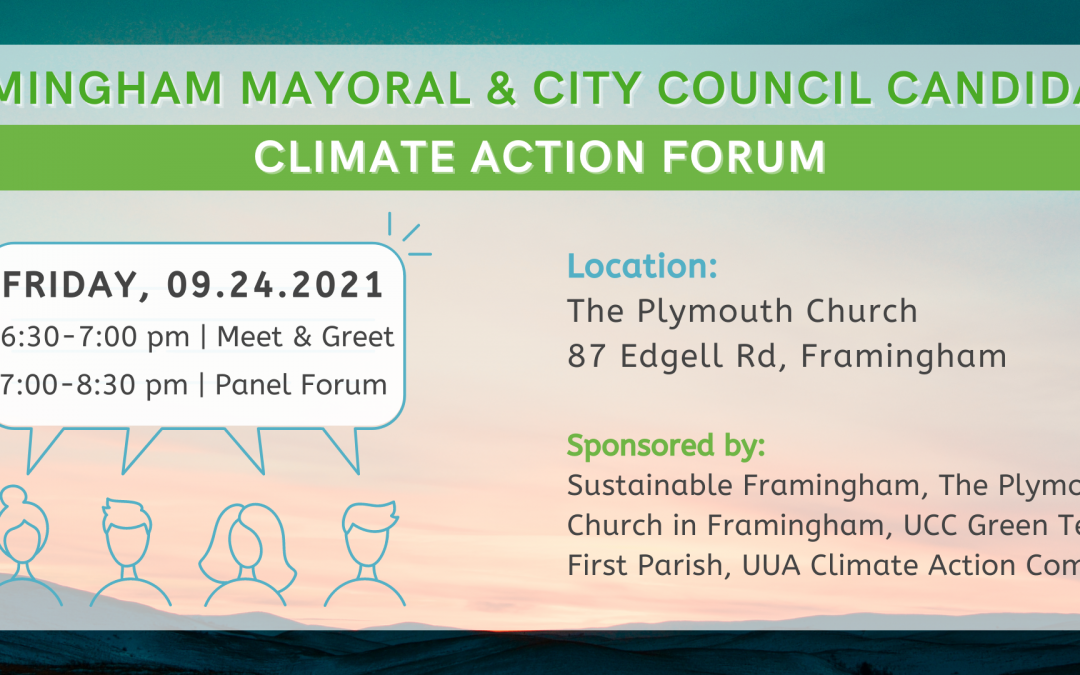 Climate Action Candidate Forum